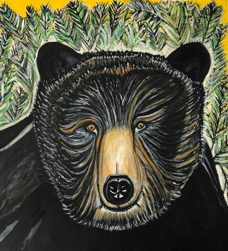 Watercolor Painting - Bear Medicine