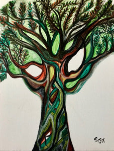 Tree of Life - Greetings Card