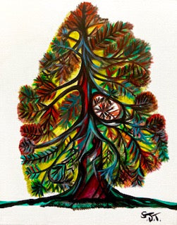 Tree of Life - Watercolor Paintings