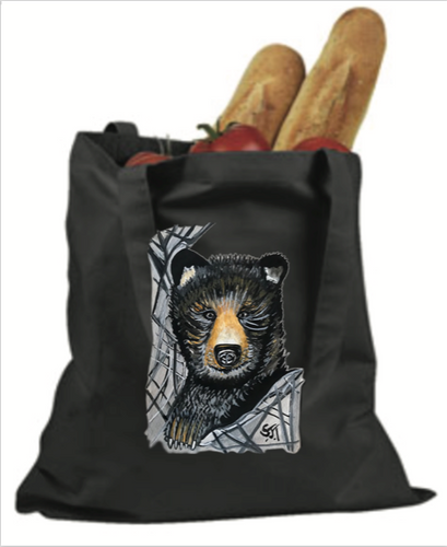 Bamboo Bear Tote Bag