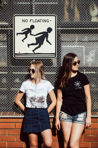 Women's fairtrade and organic t-shirts