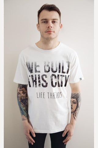 'Built this City' - Fair Trade, Organic, Limited Edition