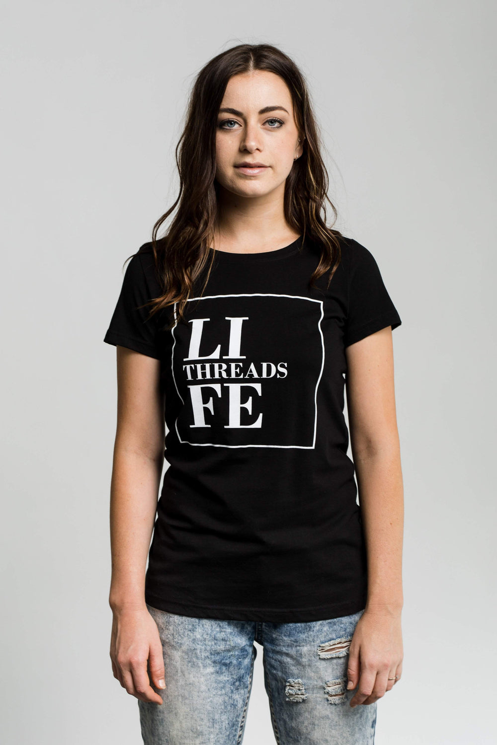 LT Square - Fairtrade & Organic T-Shirt-Fair Trade Clothing by Life Threads