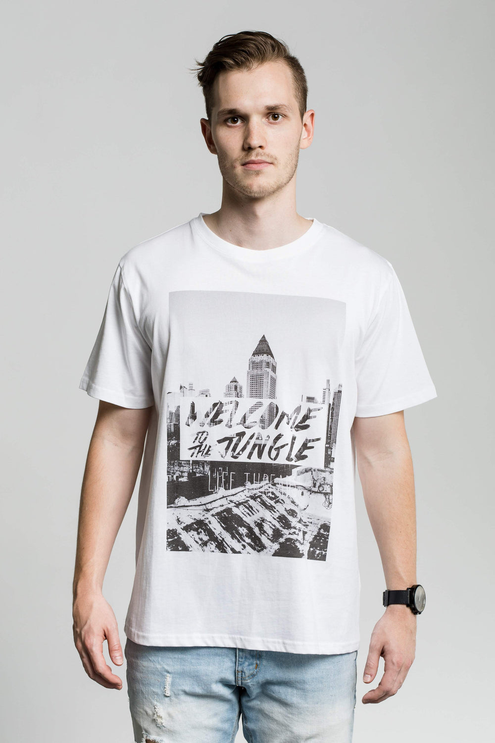 Welcome to the Jungle - Fairtrade & Organic T-Shirt-Fair Trade Clothing by Life Threads