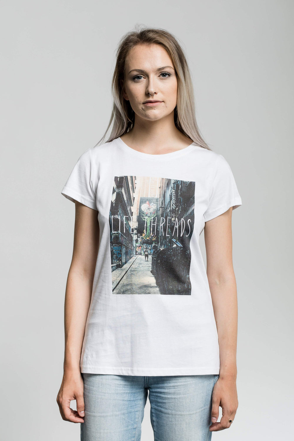 Alley - Fairtrade & Organic T-Shirt - Fair Trade Clothing by Life Threads