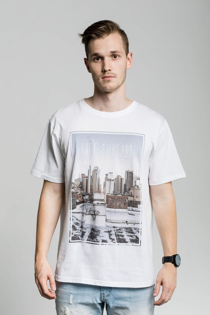 Rooftop - Fairtrade & Organic Men's T-Shirt-Fair Trade Clothing by Life Threads