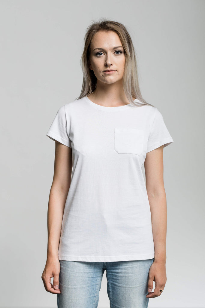 Pocket Tee - Fairtrade & Organic T-Shirt-Fair Trade Clothing by Life Threads