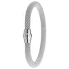 925 Sterling Silver Lady Magnetic Bangle - jewellerysavers