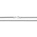 925 Sterling Silver Italian Franko Chain Necklace - jewellerysavers
