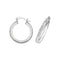 925 Sterling Silver Crystal Hoop Earrings - jewellerysavers