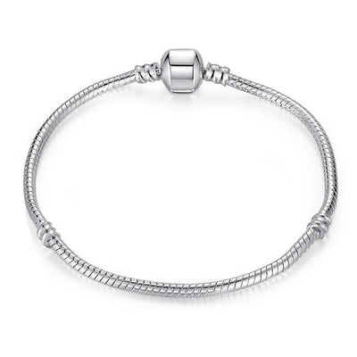 The Original Plain Silver Bracelet
