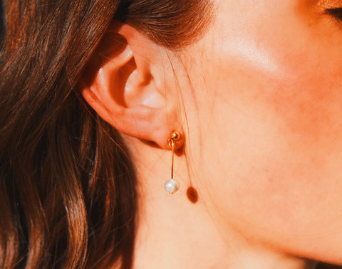 Eliana Pearl Earrings