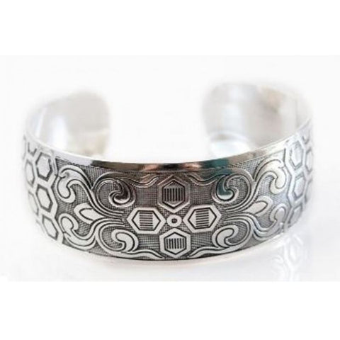 Tibetan Cuff Bracelets Assorted Styles - 5 Pack Assorted