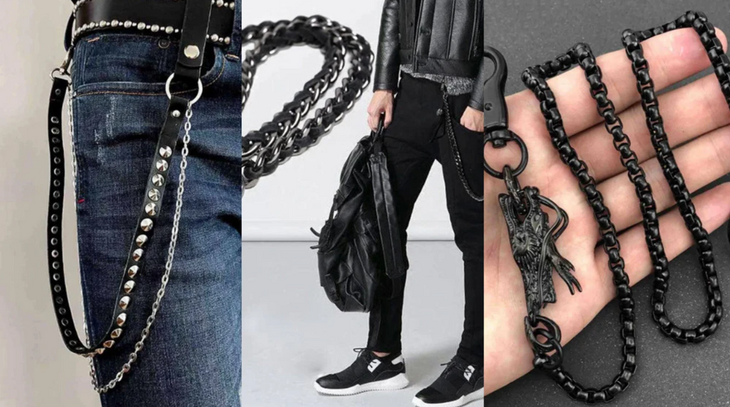 Best 14 Black Wallet Chains 2021
