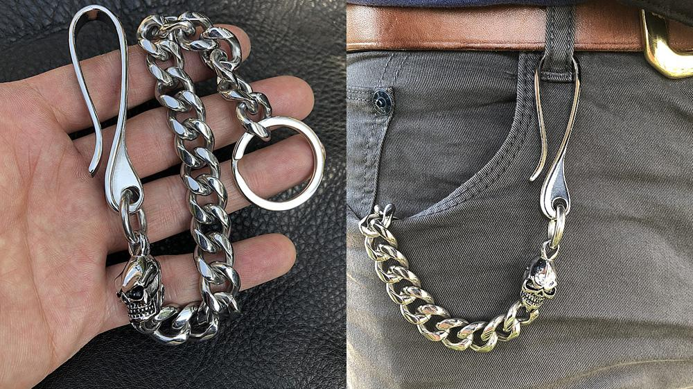 Top 25 Badass Skull Wallet Chains You Should Buy