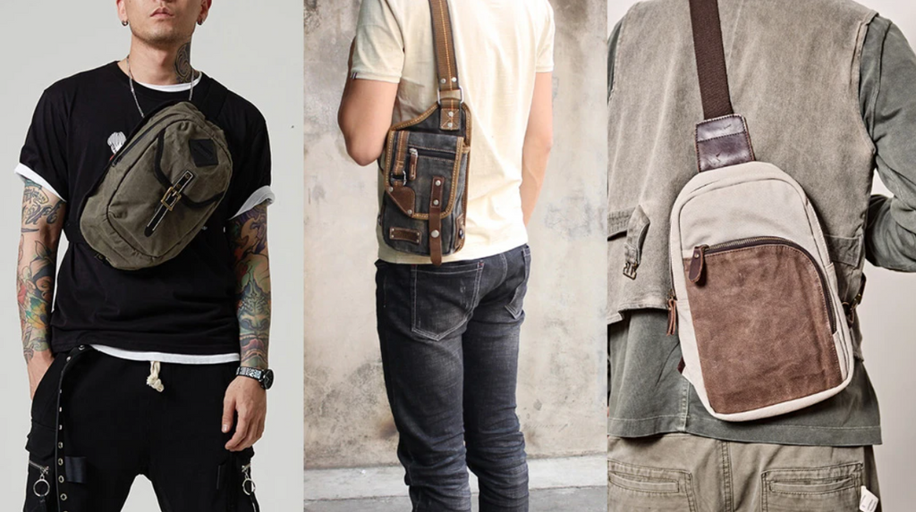 Top 20 Canvas Sling Bags for Men 2021