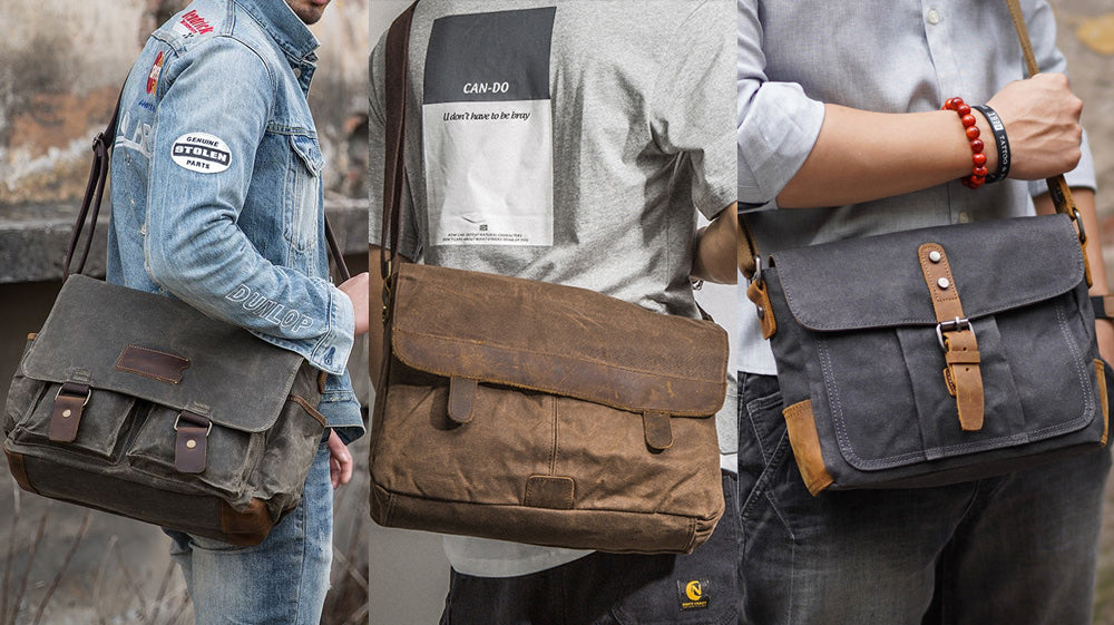 Best 26 Waxed Canvas Messenger Bags