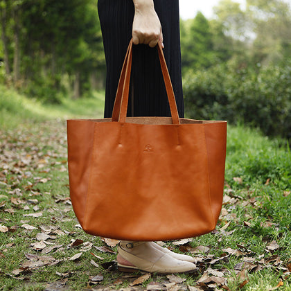 handmade_leather_tote_brown_from_everhandmade