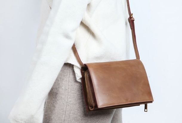 Cute Leather Womens Small Crossbody Bag Purse