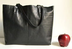 Handmade Leather Tote Bag for Women Leather Shopper bag Purse