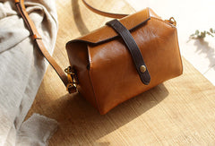 Handmade Leather bag for women leather shoulder bag crossbody bag