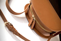 Genuine Leather Half Moon Bag Purse Crossbody Bag Shoulder Bag Purse For Women