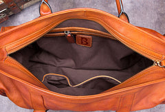 Genuine Leather Handbag Briefcase Bag Vintage Crossbody Bag Shoulder Bag Purse For Women Mens