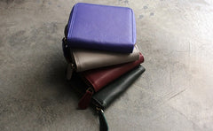 Fashion LEATHER Womens Small Wallet Bifold Zipper Cute Wallet FOR Women