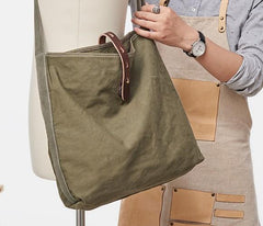 Cool Mens Canvas Side Bag Messenger Bag Canvas Shoulder Bag for Men