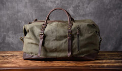 Canvas Mens Weekender Bag Travel Bag Duffle Bags Overnight Bag for men