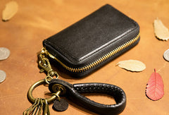 Genuine Leather Wallet Zip Cards Wallet billfold Leather Wallet Befold Wallet For Men Women