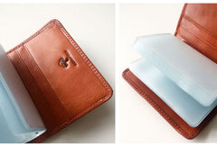 Genuine Leather Cute Short Slim Multi Wallet Card Holder Wallet Purse For Women Girl