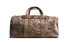 Canvas Mens Weekender Bag Travel Bag Duffle Bags Overnight Bag Holdall Bag for men