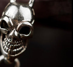 Brass Silver biker trucker Skull wallet Chain for chain wallet biker wallet trucker wallets