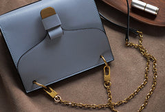 Genuine Leather Chain Bag Purse Crossbody Bag Shoulder Bag Purse For Women