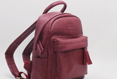 College Leather Womens Backpacks Stylish School Bag for Women