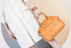 Handmade Genuine Leather Handbag Shopper Bag Crossbody Bag Shoulder Bag Purse For Women