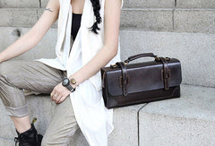 Handmade messenger bag satchel purse leather crossbody bag shoulder bag women