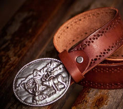 Handmade Leather Mens Belts Custom Cool Leather Men Belts for Men