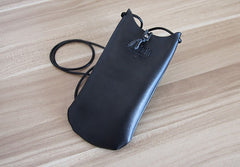 Cute LEATHER WOMEN Cell Phone Mini SHOULDER BAG Small Crossbody Purse FOR WOMEN