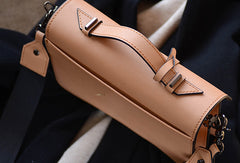 Handmade Genuine Leather Handbag Crossbody Bag Shoulder Bag Purse For Women