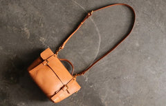 Handmade LEATHER WOMEN Vintage SHOULDER BAG Stylish Backpack Purses FOR WOMEN