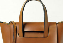 Handmade Vintage Leather Womens Handbag Shoulder Bag for Women