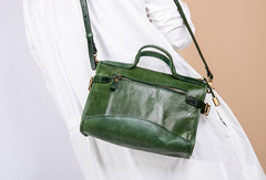 Handmade Genuine Leather Handbag Bag Messenger Bag Crossbody Bag Shoulder Bag Purse For Women