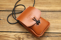 Cute LEATHER WOMEN Mini Cell Phone SHOULDER BAG Small Crossbody Purse FOR WOMEN