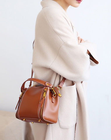 Stylish LEATHER WOMENs Small Handbags SHOULDER BAG Purse FOR WOMEN