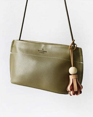 Cute Leather Red Green Womens Small Crossbody Purse Mini Shoulder Bag for Women
