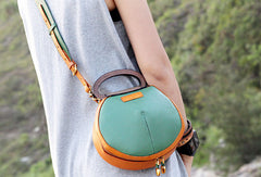 Handmade handbag Saddle purse leather crossbody bag purse shoulder bag for women