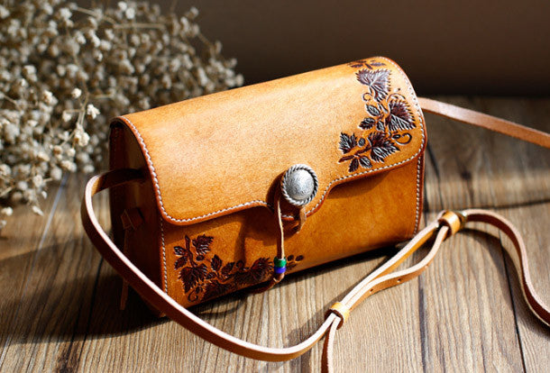 f90a1767a8 Handmade Leather bag for women leather shoulder bag crossbody bag. SKU   RR02981039. Ask a Question or Check out FAQs of the item
