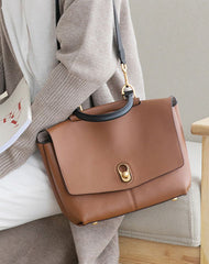 Stylish Leather Womens Handbag Work Bag Work Purse Shoulder Bag for Women